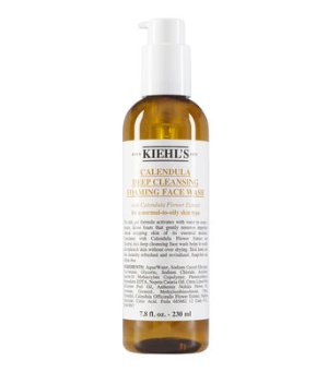 Calendula Deep Cleansing Foaming Face Wash – Foaming Cleanser – Kiehl's