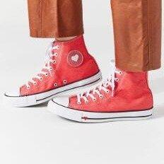 Converse Chuck Taylor All Star Denim Love High Top Womens Shoes