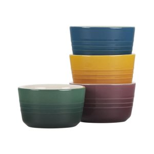 Le Creuset陶瓷小碗4个