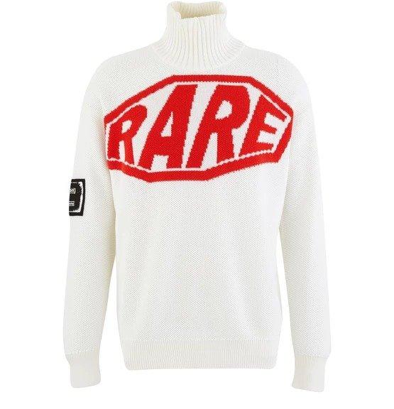 Rare roll 高领毛衣