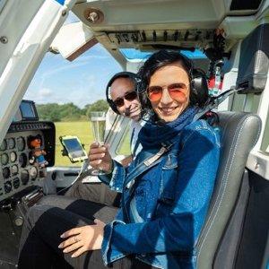 5折起+独家7.7折 6英里直升机£22.5/人直升机体验 冲上云霄 俯瞰美丽英国 浪漫的空中之旅