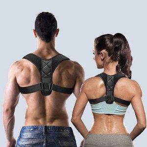浪姐都在用的好物背部矫正器 支持肩背 减少肩颈压力 挺拔身姿久坐党必备