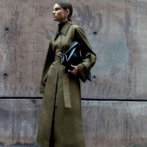 新品9折! £135收束带风衣COS 大衣风衣专场 百镑价位 高级质感首选