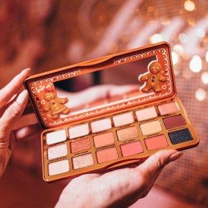 满送自选3件套Too Faced 美妆产品热卖 收姜饼人系列、妆前乳