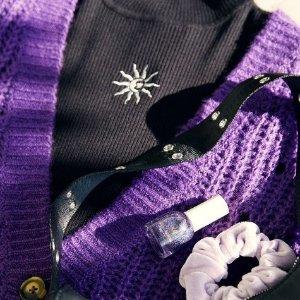 低至3折 £8收香芋紫毛衣H&M 紫色系专场大促 给冬天加点小浪漫