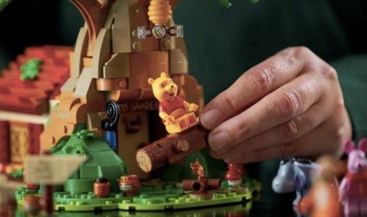 Lego 小熊维尼套装 4月1日发售Lego 小熊维尼套装 4月1日发售