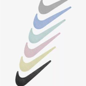 6折起+叠75折 €17收双钩T恤Nike Swoosh 马卡龙双钩加入折扣 网红运动风必不可少