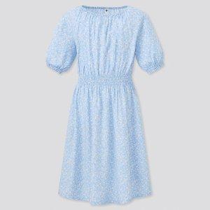 Uniqlo女童印花裙