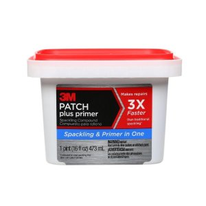 3M Patch Plus Primer Spackling Compound (16-Ounces)