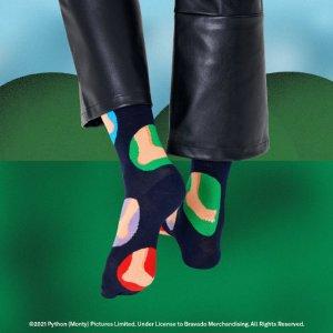 新品上市Happy Socks x Monty Python 合作款热卖  英式幽默欢乐来袭