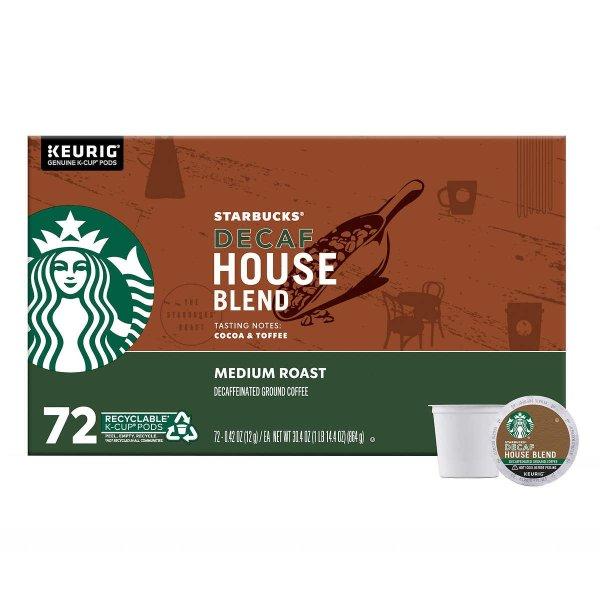 低因咖啡 72 Count