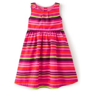 Gymboree条纹连衣裙