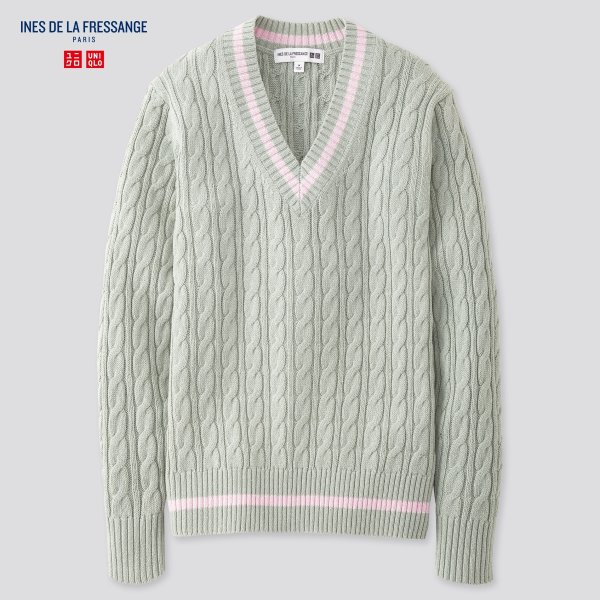 IDLF合作款 V领毛衣