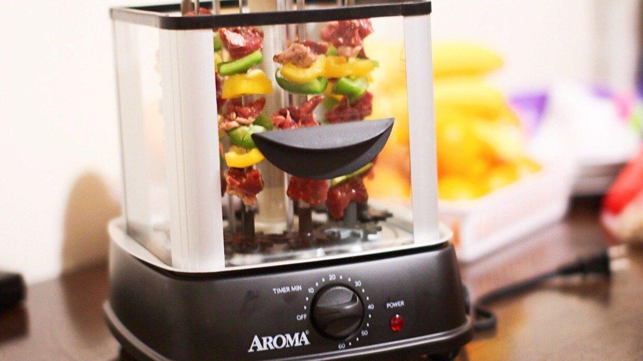 家有Aroma自动烤串机 | 畅享无烟烧烤乐趣,从此撸串儿不再愁!