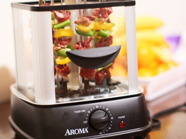 家有Aroma自动烤串机 | 畅享...