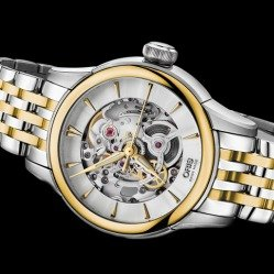 $795EXTRA $90.99 OFF Oris 01 560 7687 4351-07 8 14 78 Skeleton Ladies Automatic Watch