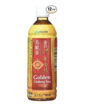 $17 Ito En Golden Oolong Tea, Unsweetened, 16.9 Fluid Ounce (Pack of 12)