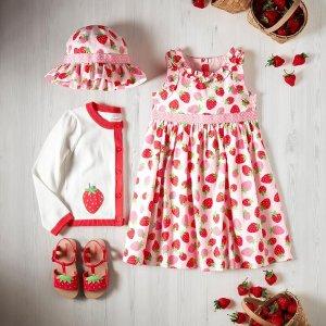 低至4折 $8.97收贝壳墨镜GYMBOREE 童装特卖 $24收果冻凉鞋  $25收可爱草莓裙子