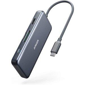 5合1 低至 $19.99Anker USB C 扩展坞促销,共3款参与