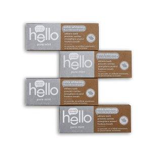 $14.88 包邮Hello Oral Care 强效美白牙膏120g x 4支