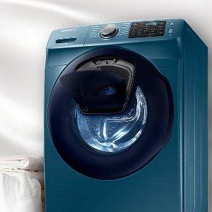 低至6.2折+最高可获得€150返现Samsung 精选洗衣机、烘干机超值促销