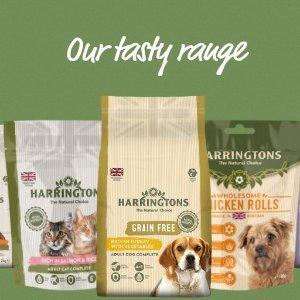 低至73折 £14收4袋狗粮 多口味可选Harringtons 亚马逊销量冠军的狗粮 狗狗值得拥有最好的