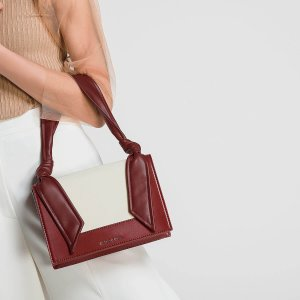 Charles & KeithRed Knotted Strap Handbag | CHARLES & KEITH US