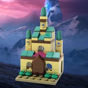 Build a Castle to bring homeLEGO Frozen 2 Build Event