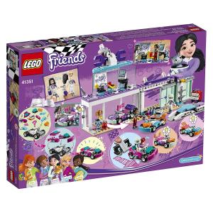 现价$29.00(原价$39.98)Lego 乐高 41351 闺蜜系列 酷酷赛车店套装 413块