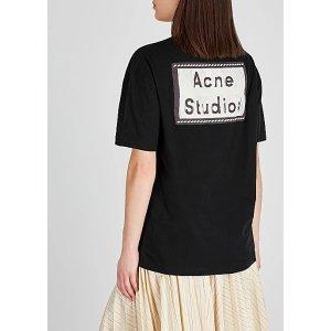 Acne StudiosElice logo-appliqued cotton T-shirt