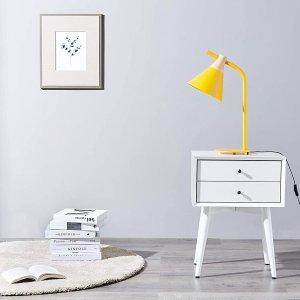 折后€30.59 原价€45Umi 黄色台灯 活波可爱 家装点睛之笔 送人自用都可以