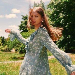 低至4折 超美仙裙折扣升级:BNKR 设计师品牌夏、秋季仙女裙热卖