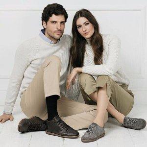 再降 $105起 (原价$170)  国内特价¥1789意大利品牌GEOX 情侣款NEW DO环保鞋履,呼吸透气多色选