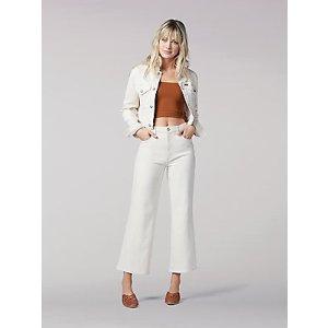BOGO 50% OffWomen's Vintage Modern Cropped Wide Leg Jean | Women's Jeans | Lee®