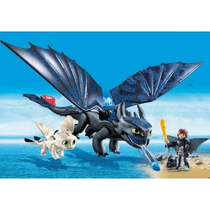 PLAYMOBIL®Hiccup and Toothless with Baby Dragon