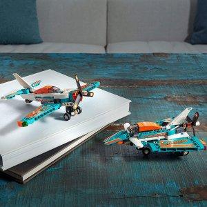 白菜价€7.99 两种拼搭方式LEGO 42117 竞技飞机好价 发动机仓可打开 螺旋桨可旋转