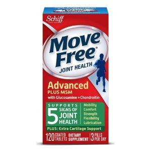 Move Free绿瓶维骨力 120粒 2瓶