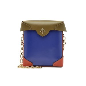 Manu Atelier- Mini Pristine Leather Shoulder Bag