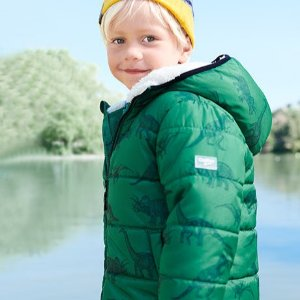 50-60% Off + 25% Off $40OshKosh BGosh Outerwear and Cold Weather Accessories  on Sale