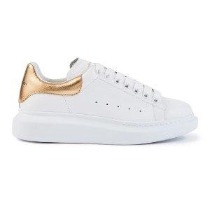 Alexander McQueen35、37.5-41,定价$650金尾小白鞋