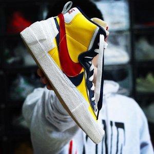 5月30日 英国时间8am £152.95新品预告:Nike Blazer Mid 'Sacai' (两款配色)即将发售