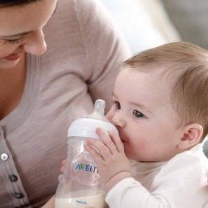 亚马逊精选 2只仅$8.77Philips Avent 防胀气奶嘴 母乳配合设计 柔软花瓣设计快流速