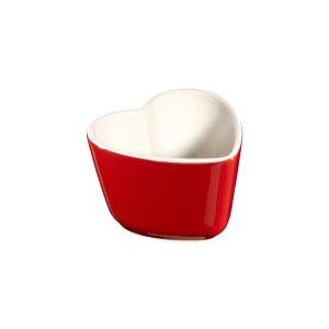 Staub2件套心形陶瓷碗