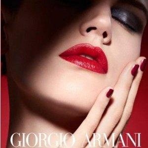 无门槛85折+ 送多重好礼最后一天:Giorgio Armani Beauty官网 全场优惠 又是囤唇膏换粉底的好时机