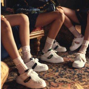 £850收最爆小白鞋Dior 最新小白鞋Dior-ID 金色烫印logo设计 2021必备复古设计