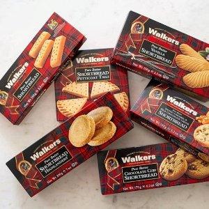 首单8折 仅€1.59Walkers 迷你黄油曲奇150g  英国最好吃的曲奇饼 没有之一
