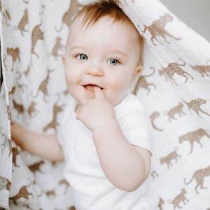 8折 英国小王子爱用品牌新品上市:Aden + Anais 经典包巾、睡袋、口水巾等特卖