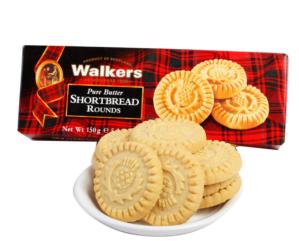 $3.41超级好吃!!Walkers  Shortbread 苏格兰黄油饼干150克