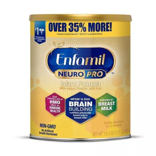 NeuroPro 婴儿配方奶粉 - 28.3oz