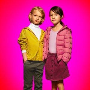 买2件立减$5 秋冬活动自如不穿厚Uniqlo HEATTECH保暖系列儿童服饰限时优惠 保暖外套$29.9